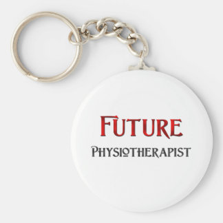 Future Physiotherapist Basic Round Button Key Ring