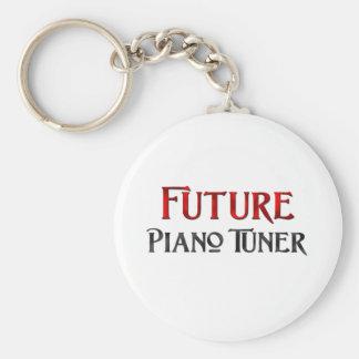Future Piano Tuner Keychains