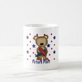Future Pilot Little Bear Coffee Mugs