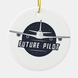 Future Pilot Ornament
