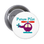 Future Pilot Pinback Buttons