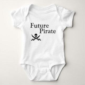 Future Pirate Baby Bodysuit