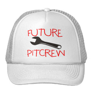 Future Pitcrew Trucker Hats