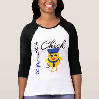 Future Police Chick T-Shirt