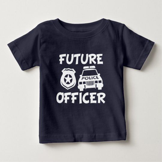 Future Police Officer baby shirt