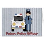 Future Police Officer - Female Cards