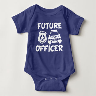 Future Police Officer funny baby boy shirt