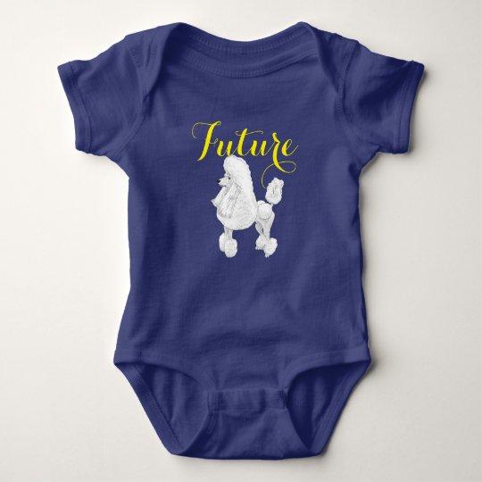 Future Poodle Baby Bodysuit