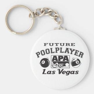 Future Pool Player Las Vegas Key Ring