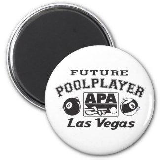 Future Pool Player Las Vegas Magnet