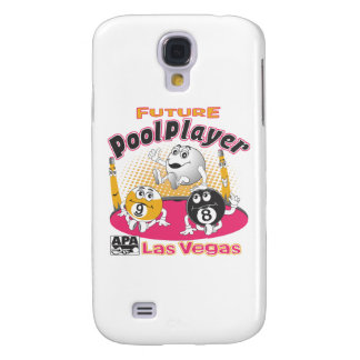 Future Pool Player - Pink Galaxy S4 Case