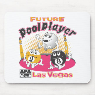 Future Pool Player - Pink Mouse Mat