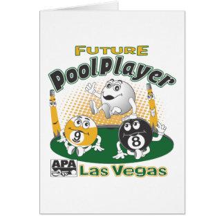 Future Pool Player - Yellow Card
