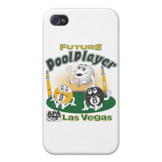 Future Pool Player - Yellow Cases For iPhone 4