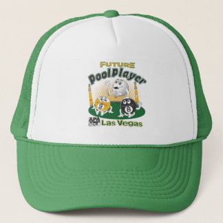 Future Pool Player - Yellow Trucker Hat