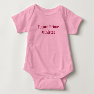 Future Prime Minister Baby Bodysuit