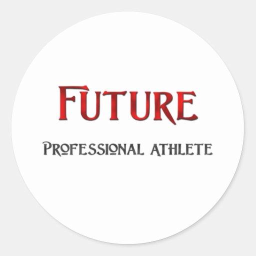 Future Professional Athlete Stickers