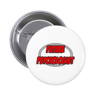 Future Psychologist 6 Cm Round Badge