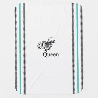 """""""Future Queen"""" Baby Blanket"""