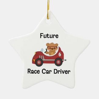 Future Race Car Driver (boy) Christmas Ornament