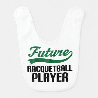Future Racquetball Player Baby Bib