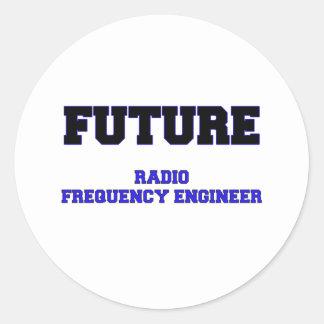 Future Radio Frequency Engineer Sticker
