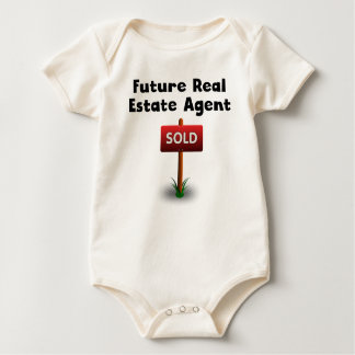 Future Real Estate Agent Baby Bodysuit
