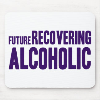 Future Recovering Alcoholic Mousepads
