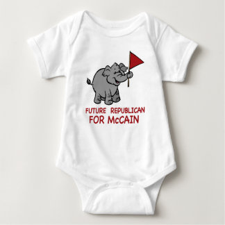 Future Republican McCain Baby Bodysuit