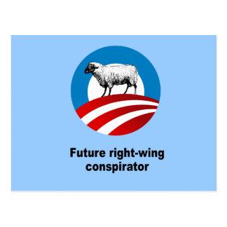 Future right-wing conspirator postcard