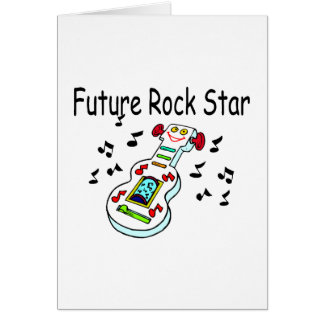 Future Rock Star Card