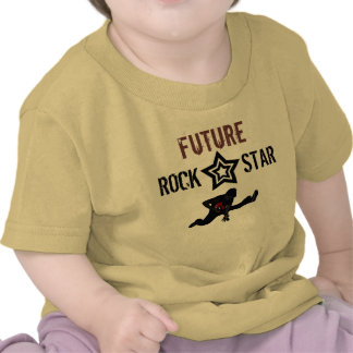 Future Rock Star for Baby Tee Shirts