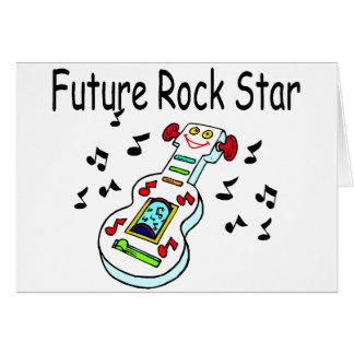 Future Rock Star Greeting Card