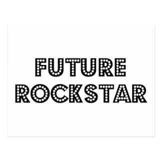 Future Rock Star Postcard