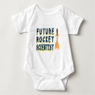 Future Rocket Scientist Baby Bodysuit