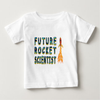 Future Rocket Scientist Baby T-Shirt