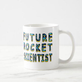 Future Rocket Scientist In 3D Coffee Mug