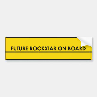 Future Rockstar bumper sticker