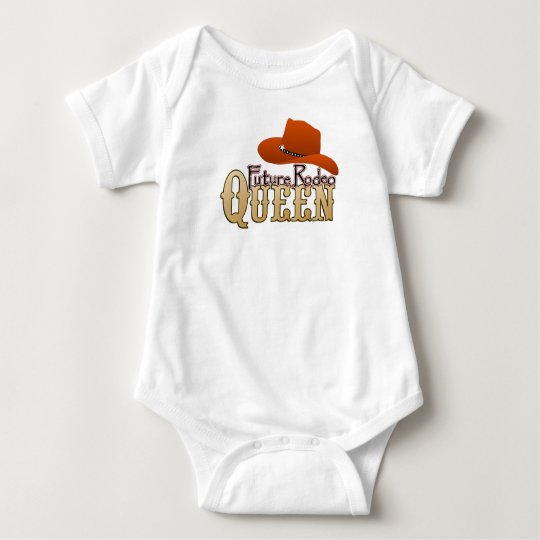 Future Rodeo Queen Baby Baby Bodysuit