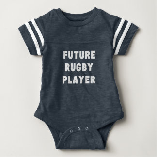 Future Rugby Player Baby Bodysuit