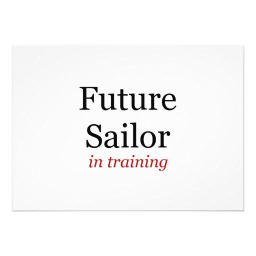 Future Sailor in Training Personalized Invites