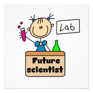 Future Scientist Custom Announcement