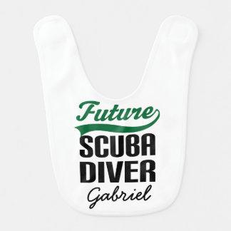 Future Scuba Diver Personalized Baby Bib