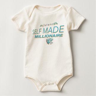future selfmade millionaire baby bodysuit