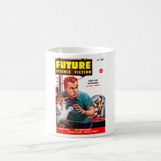 Future September 1956_Pulp Art Basic White Mug