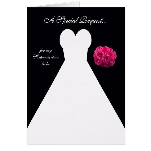Future Sister in Law Bridesmaid Card