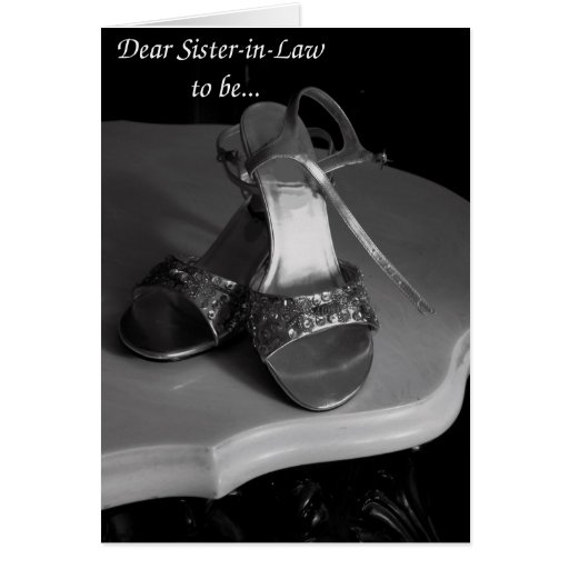 Future Sister-in-Law Bridesmaid Request card
