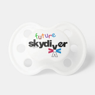 Future Skydiver Baby Pacifiers