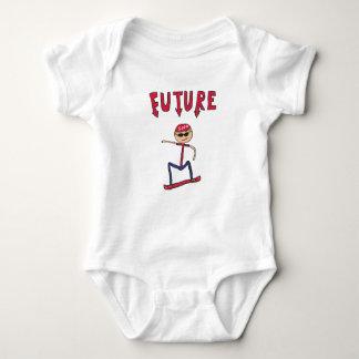 Future Snowboarder Baby Bodysuit