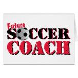Future Soccer Coach (red) Card